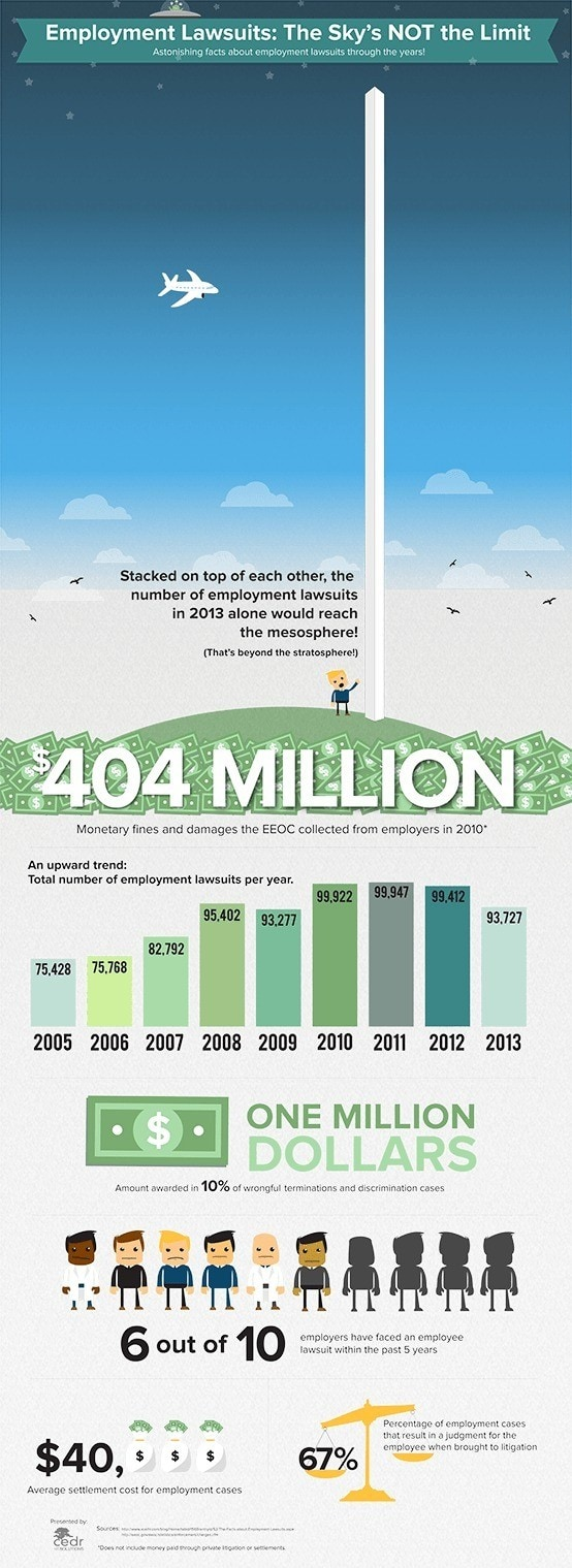 Employment Lawsuit Infographic