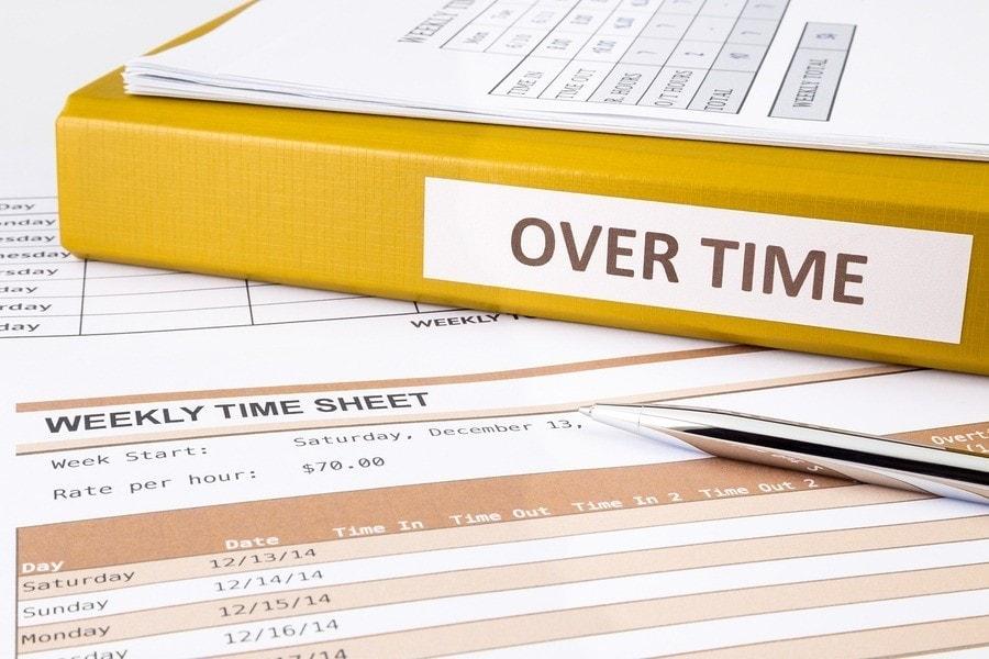 binder labeled overtime