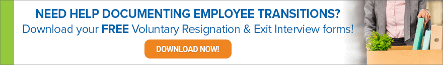 Click to download CEDR's free exit packet for employers.