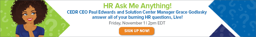click to sign up for our live h.r. ask me anything