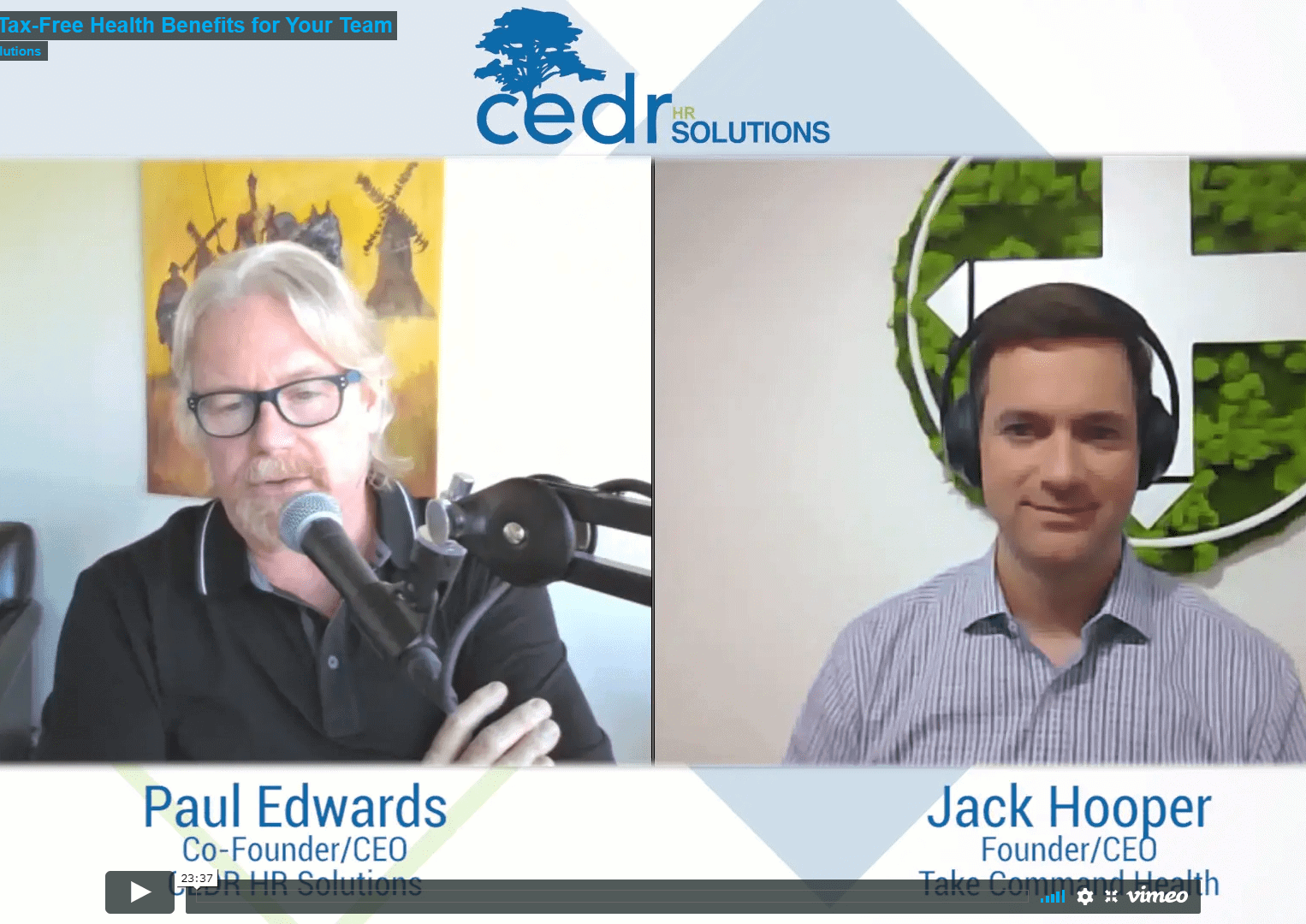 Paul Edwards and Jack Hooper discuss H.R.A.s in this video