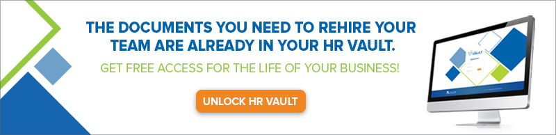 Click for free access to your HR Vault software, free for the life of your business