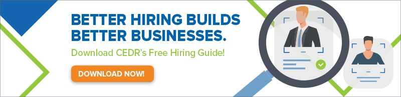 Better hiring builds better businesses. Click to download cedr's free hiring guide