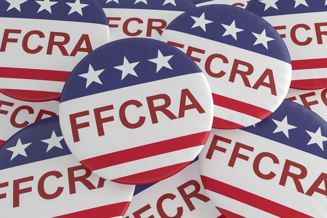 Families First Coronavirus Response Act Buttons; ffcra update